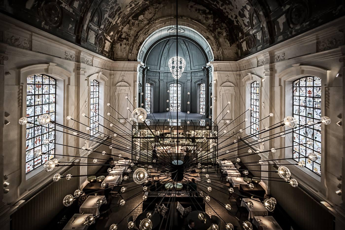 Restauracja w zabytkowej kaplicy
