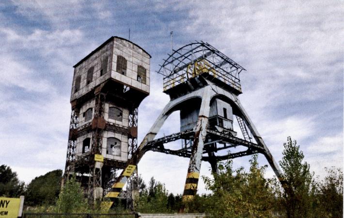 """10 Wieże wyciągowe Kopalni Węgla Kamiennego """"Polska"""" w Świętochłowicach PRZED"""