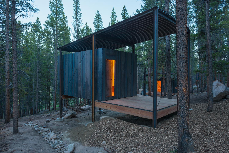 chatki z drewna