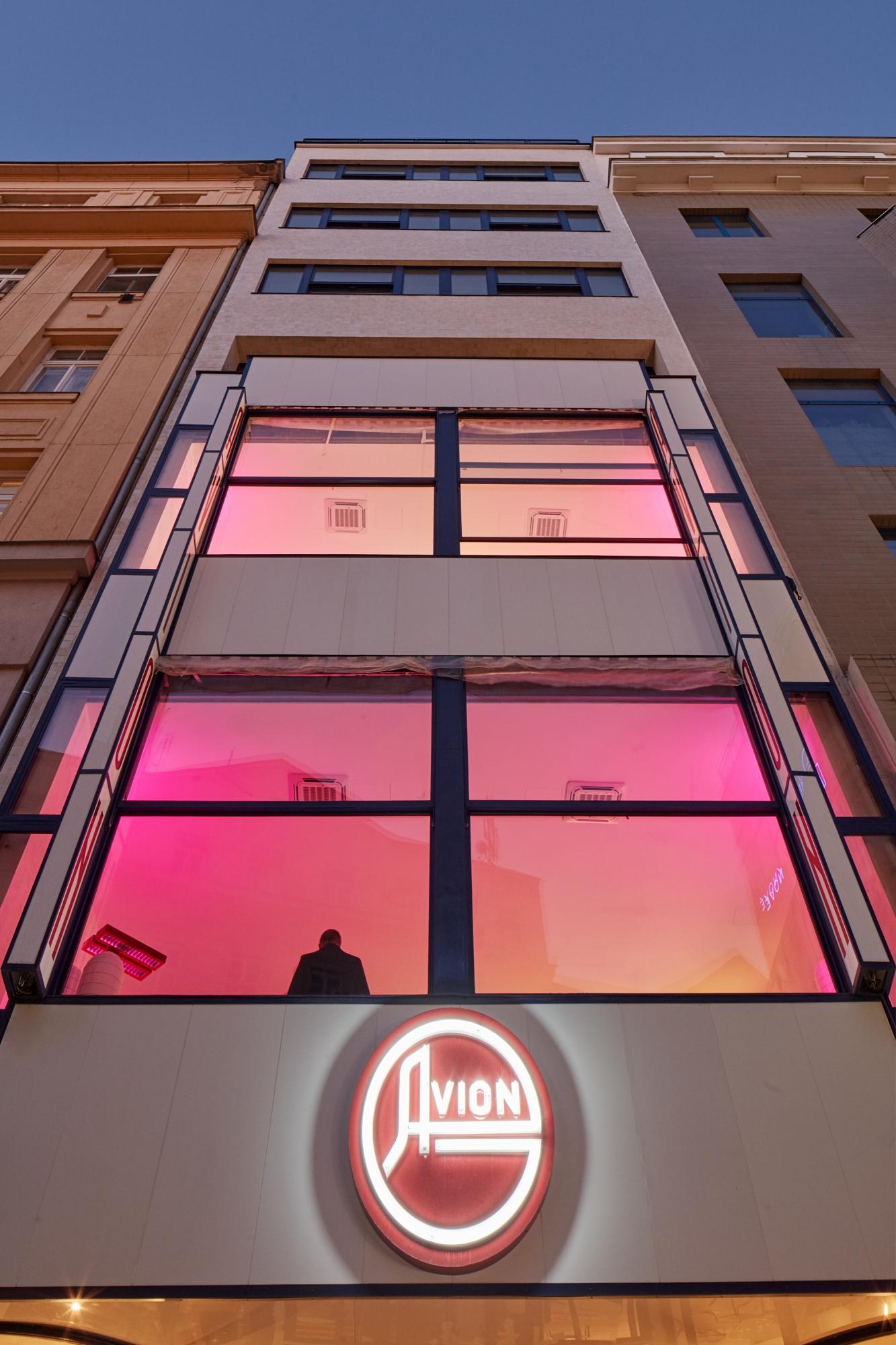 hotelu w Brnie