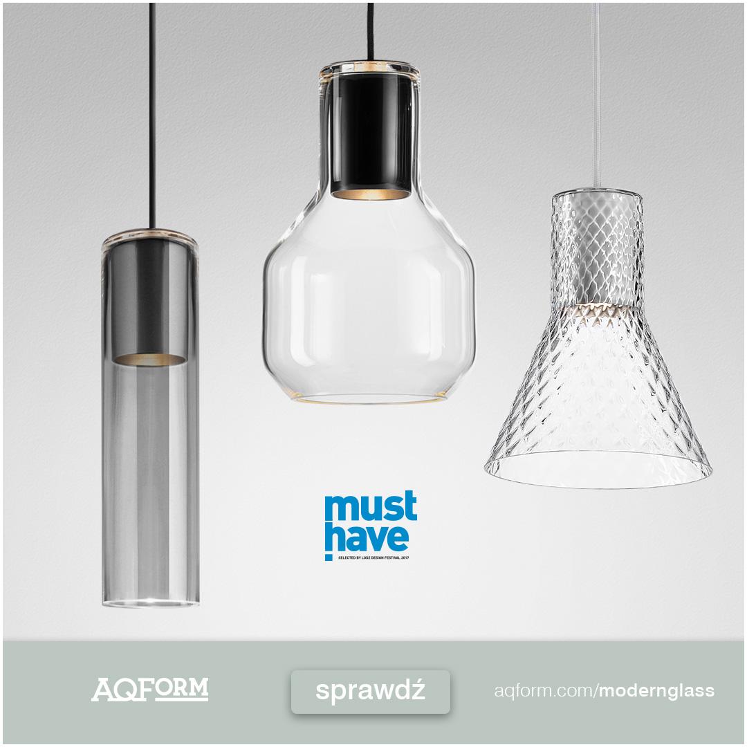 Nowoczesne lampy od AQForm