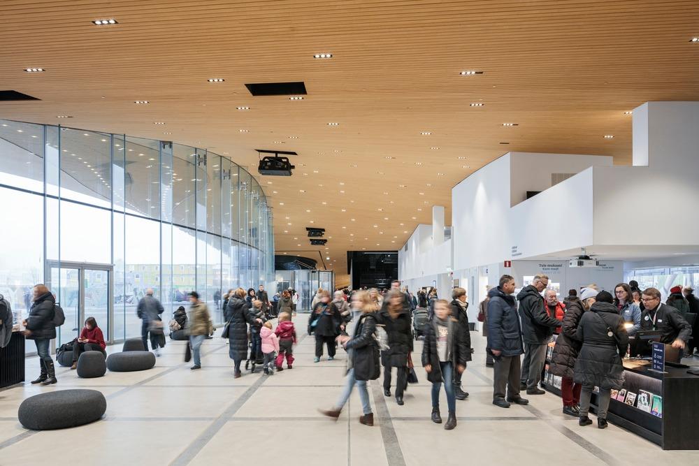 Biblioteka w Finlandii.