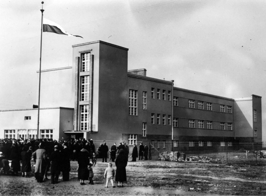 Remont przedwojennej szkoły w Poznaniu