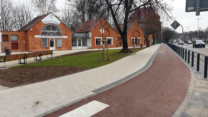 Nowa droga rowerowa w Gdańsku