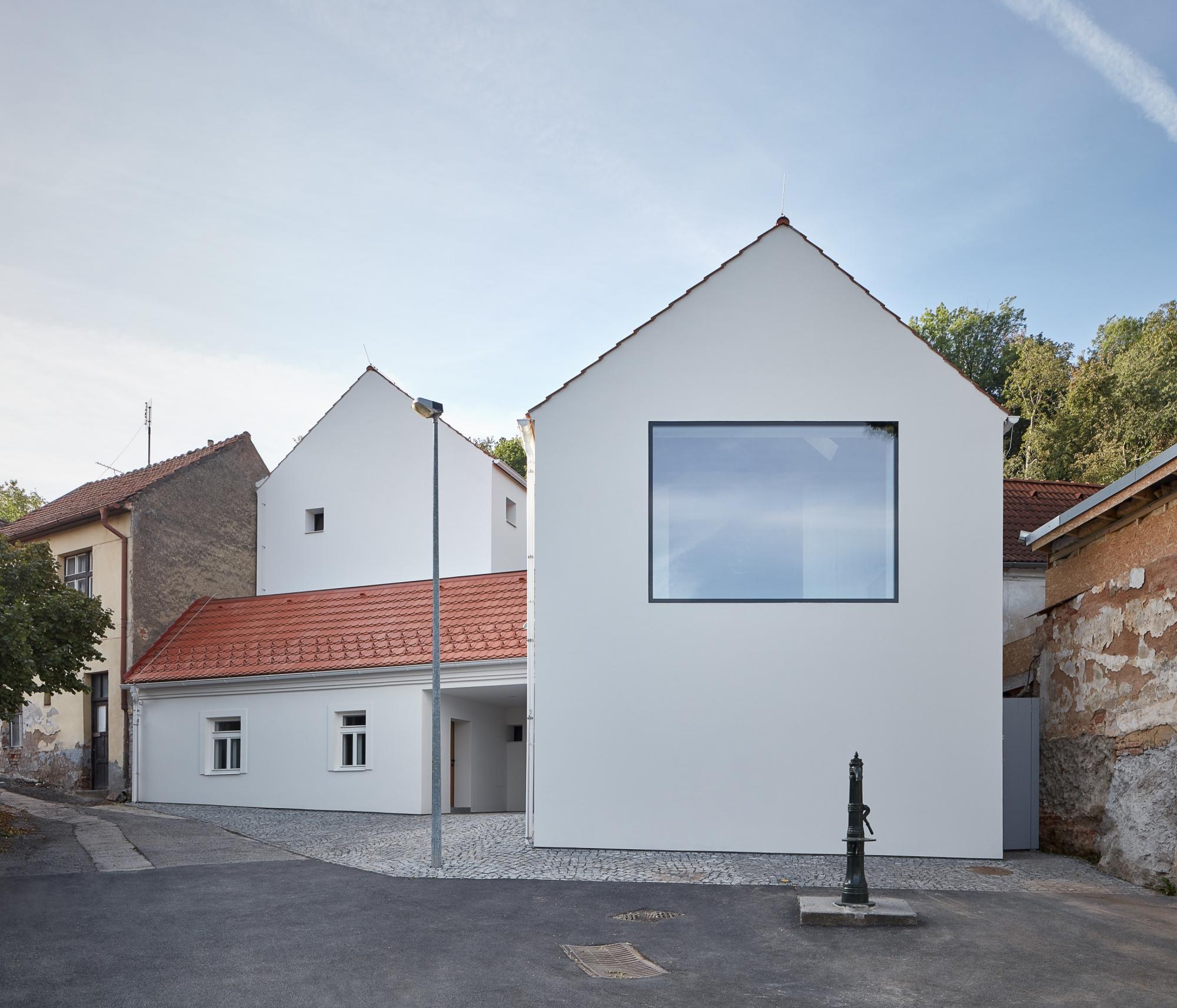 Dom ze szklanym dachem