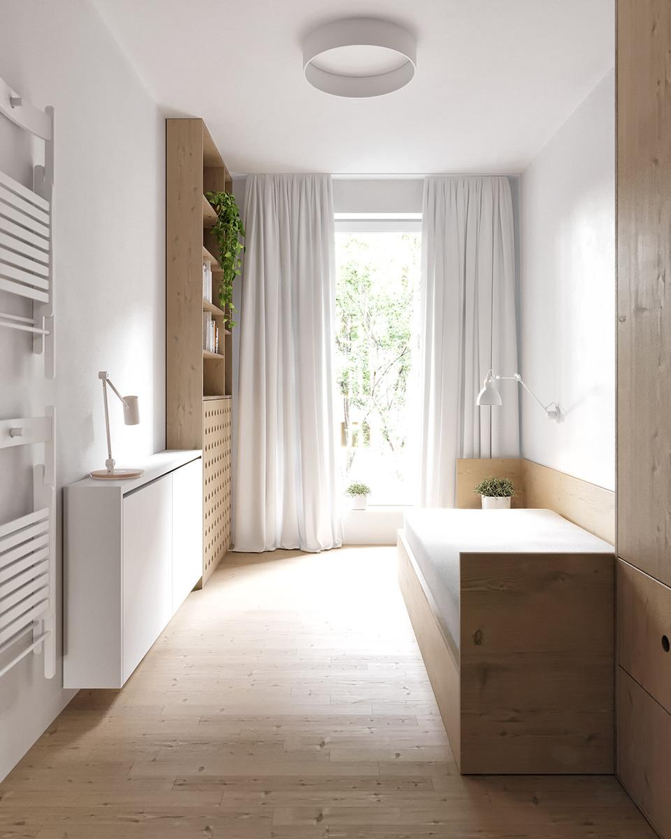 Mieszkanie z chowanym rzutnikiem