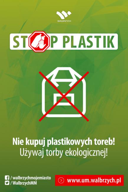stop plastik