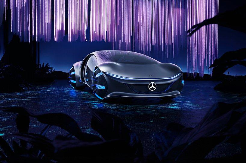 Mercedes inspirowany filmem Avatar