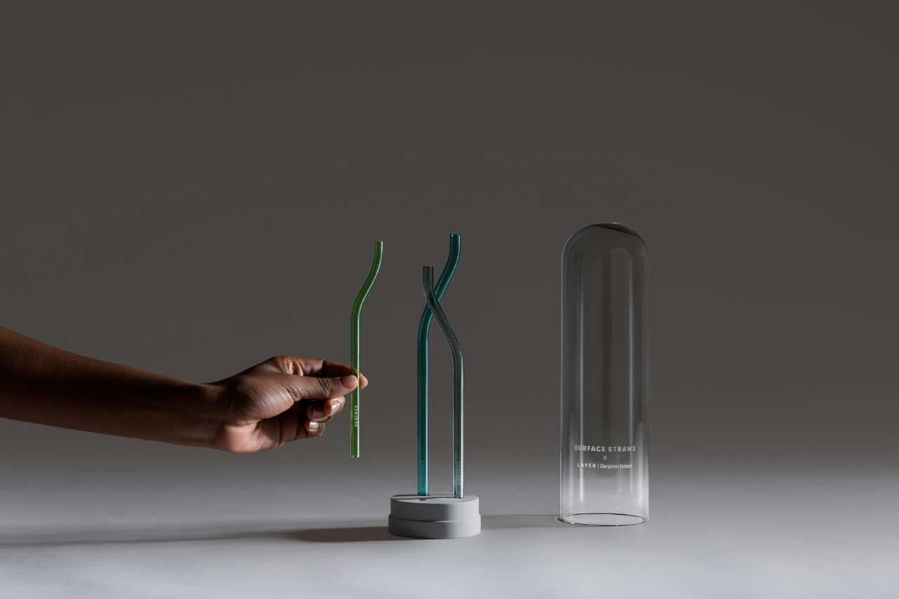 Szklane słomki