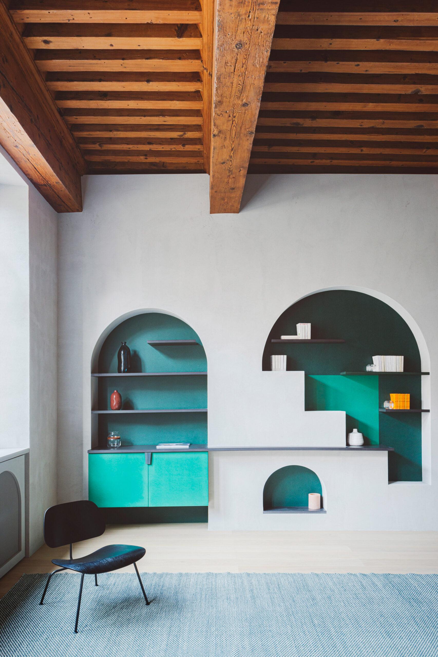 Pastelowe mieszkanie w Lyonie