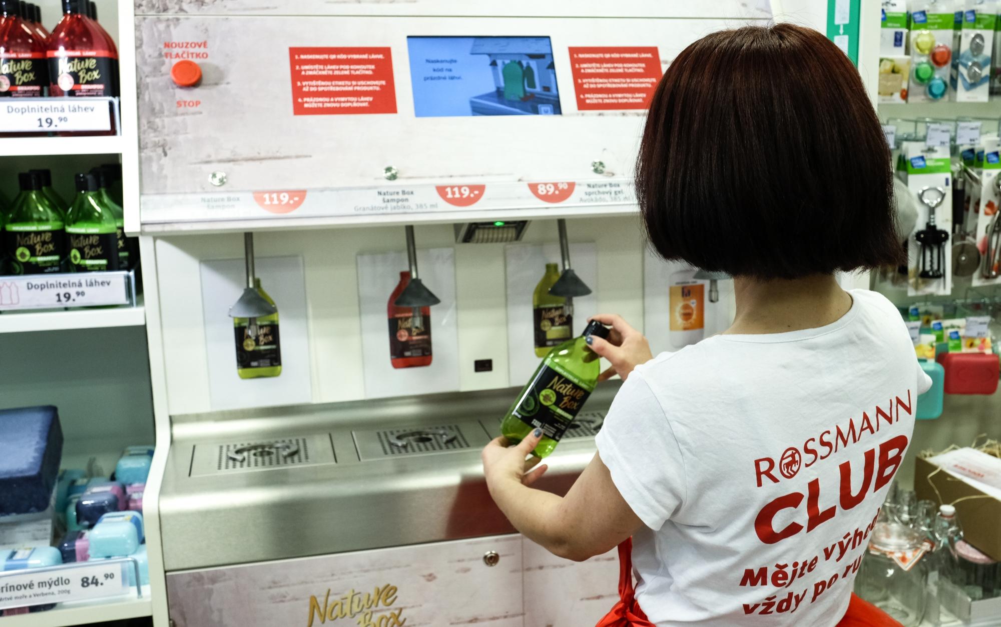 automaty do napełniania butelek