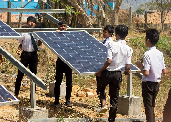 ekoszkoła w indiach