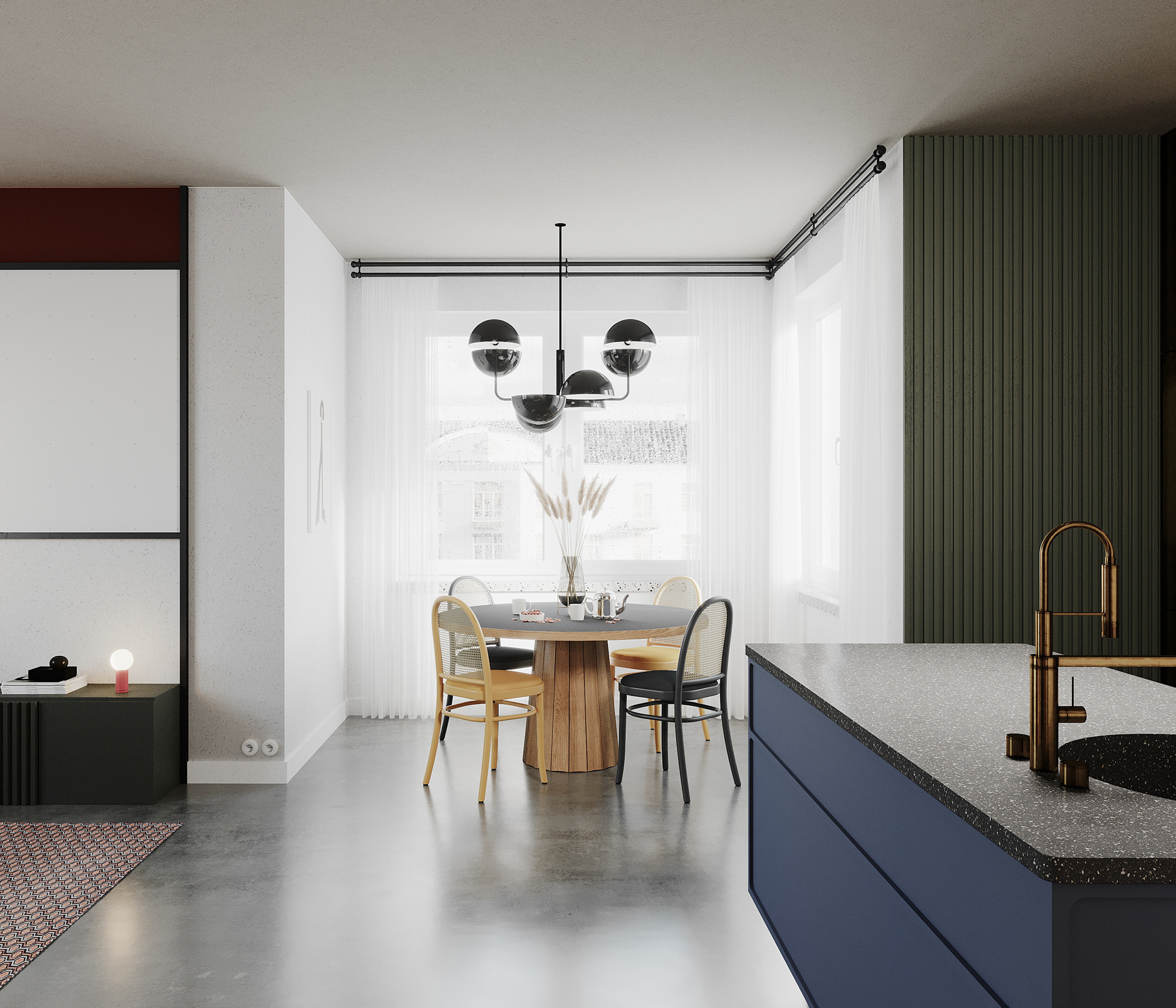Mieszkanie inspirowane modernizmem