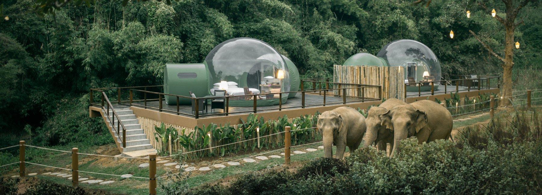 namioty w Tajlandii