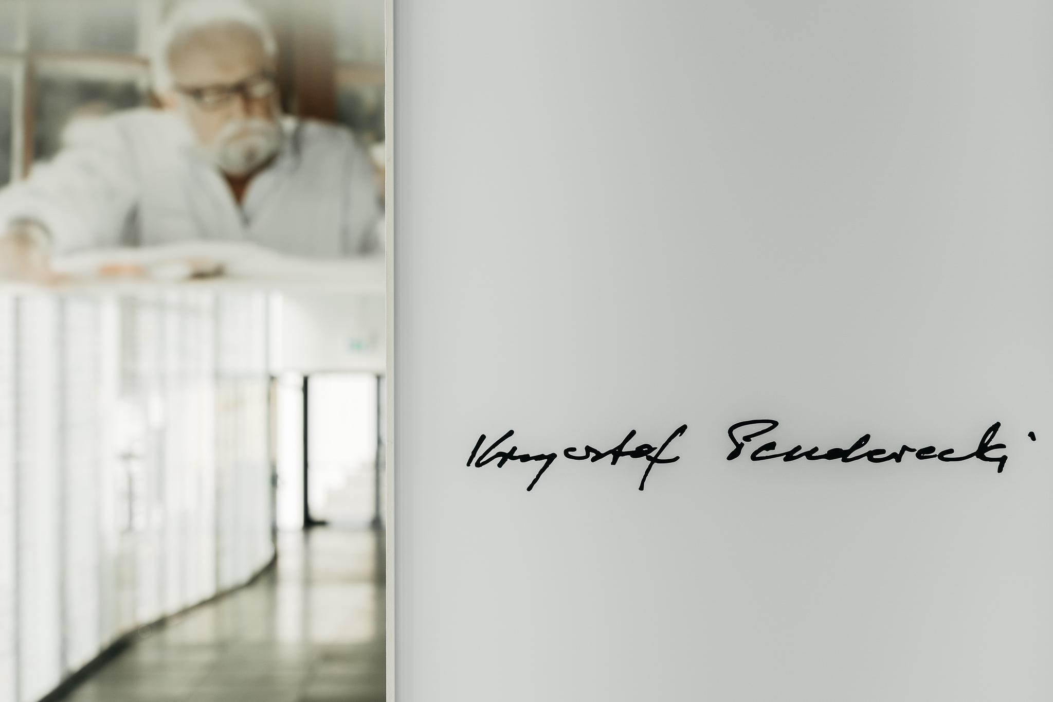 Penderecki w Europejskim Centrum Muzyki