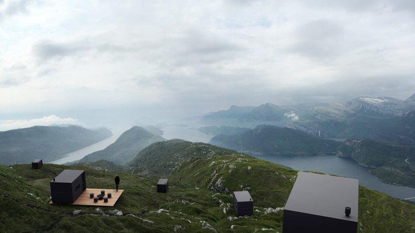 Modułowe domki w Norwegii