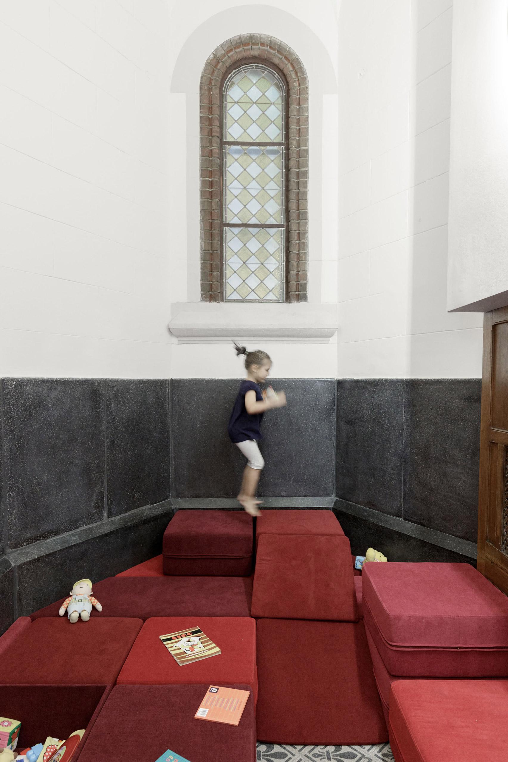 pokój zabaw w kościele