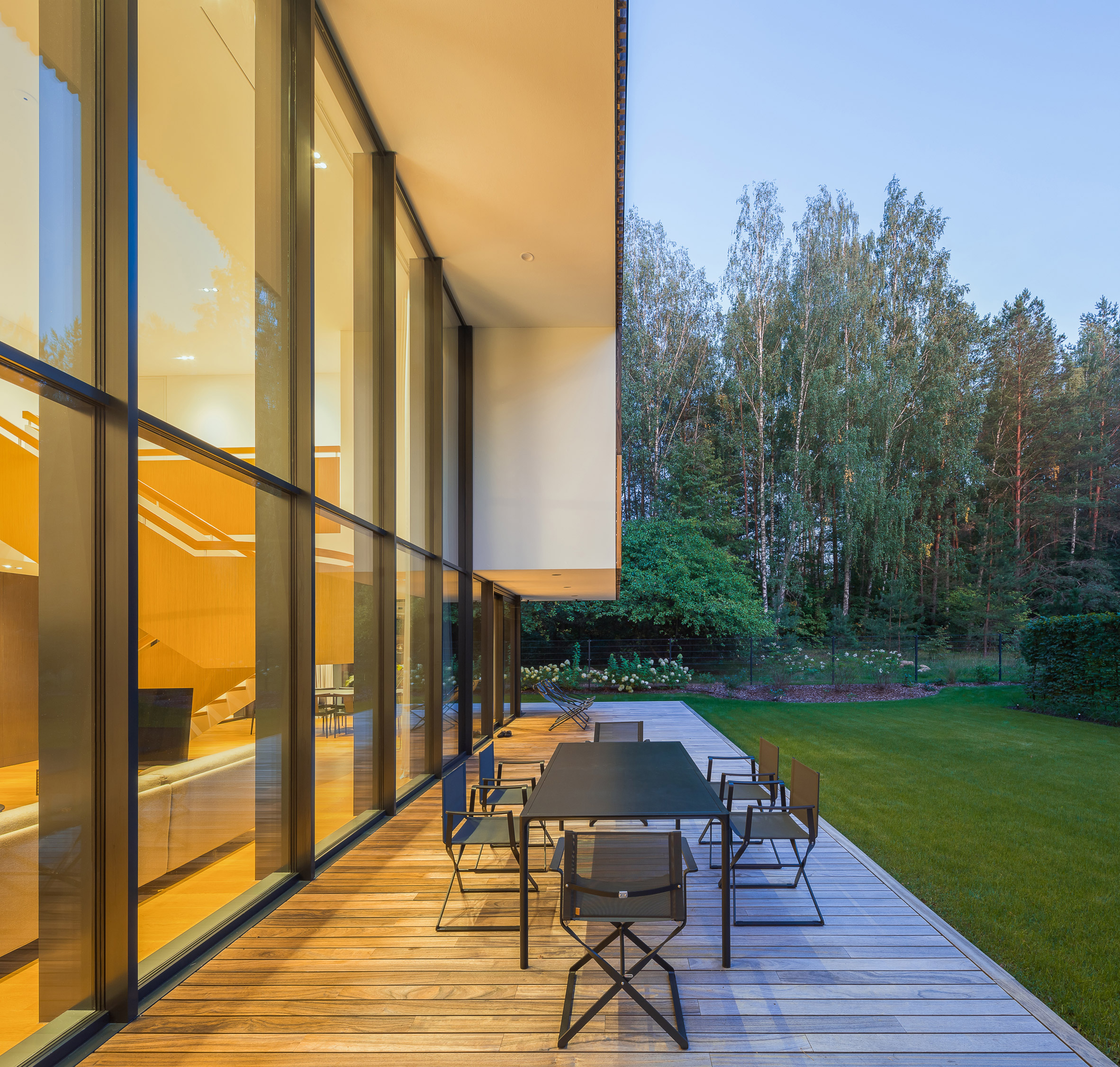 Nowoczesny dom na Litwie