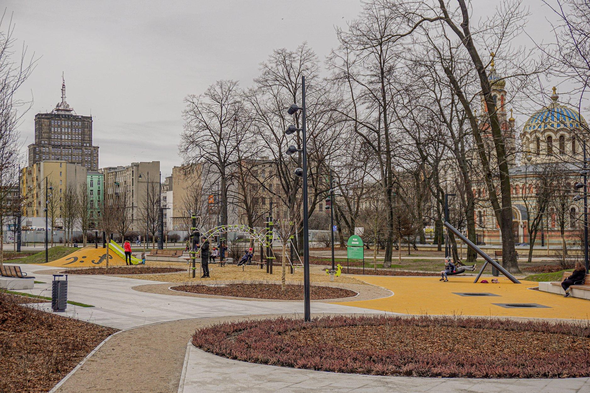 Park Moniuszki w Łodzi