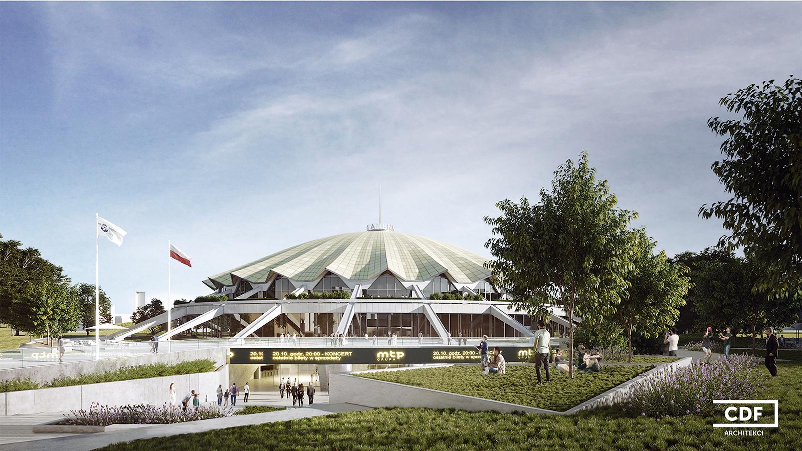 Modernizacja hali Arena Poznań.