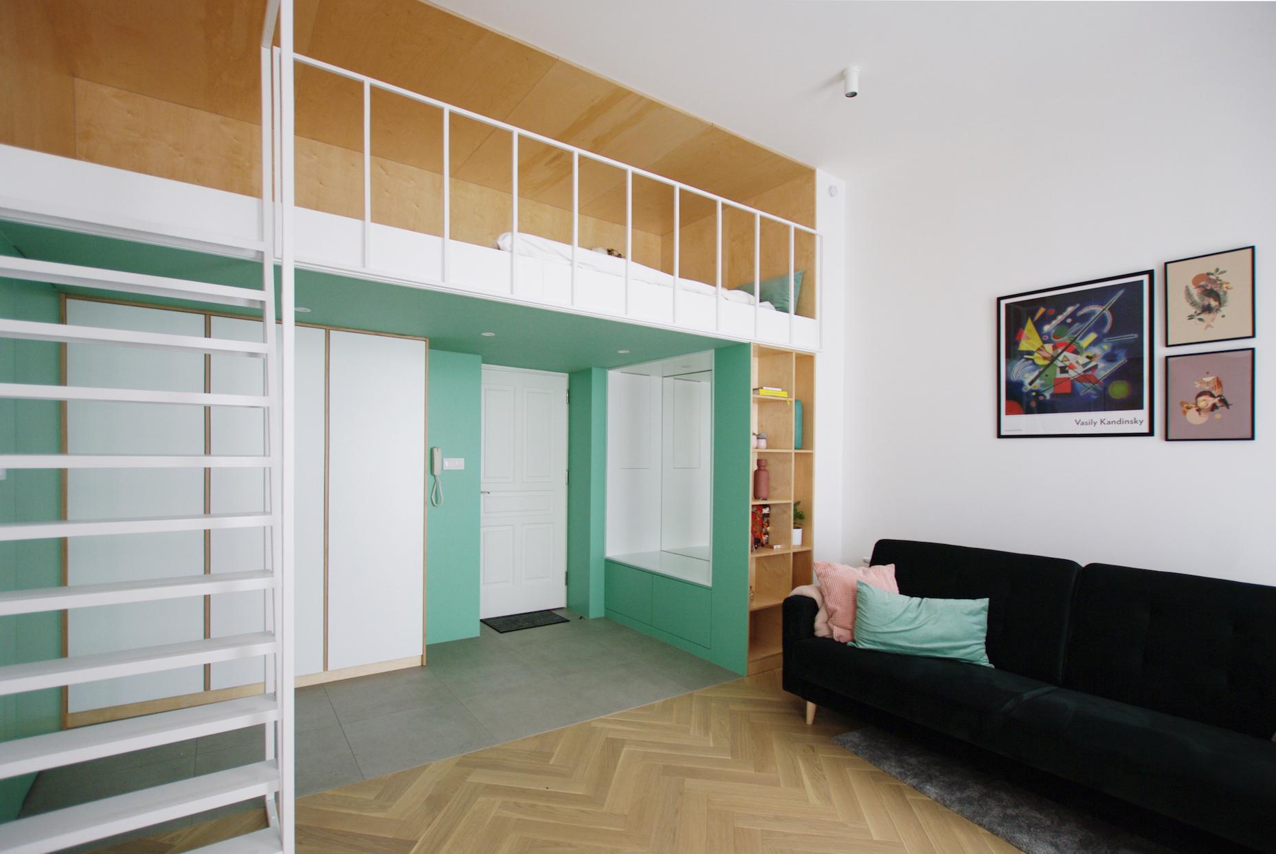 Apartament w krakowskiej kamienicy