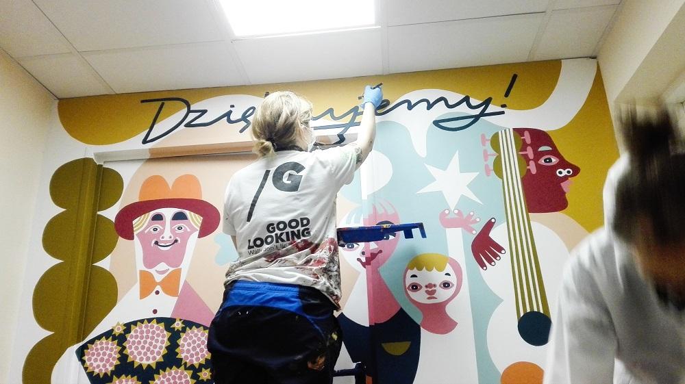 Murale dla ratowników