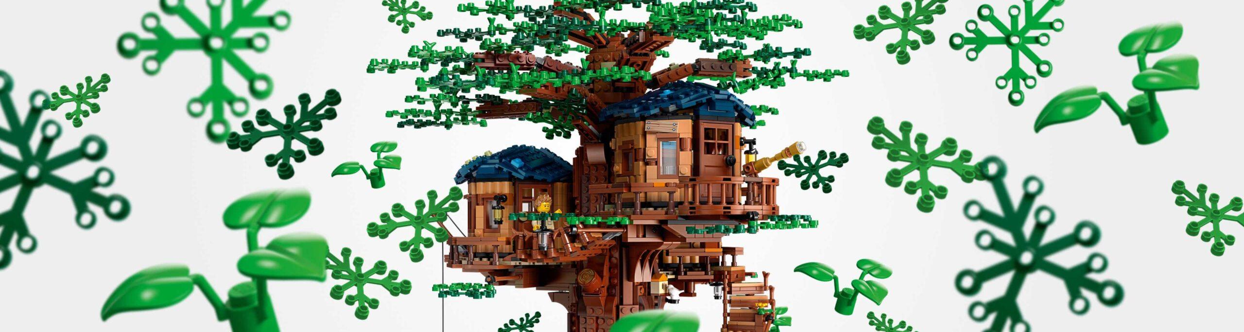 LEGO rezygnuje z plastiku