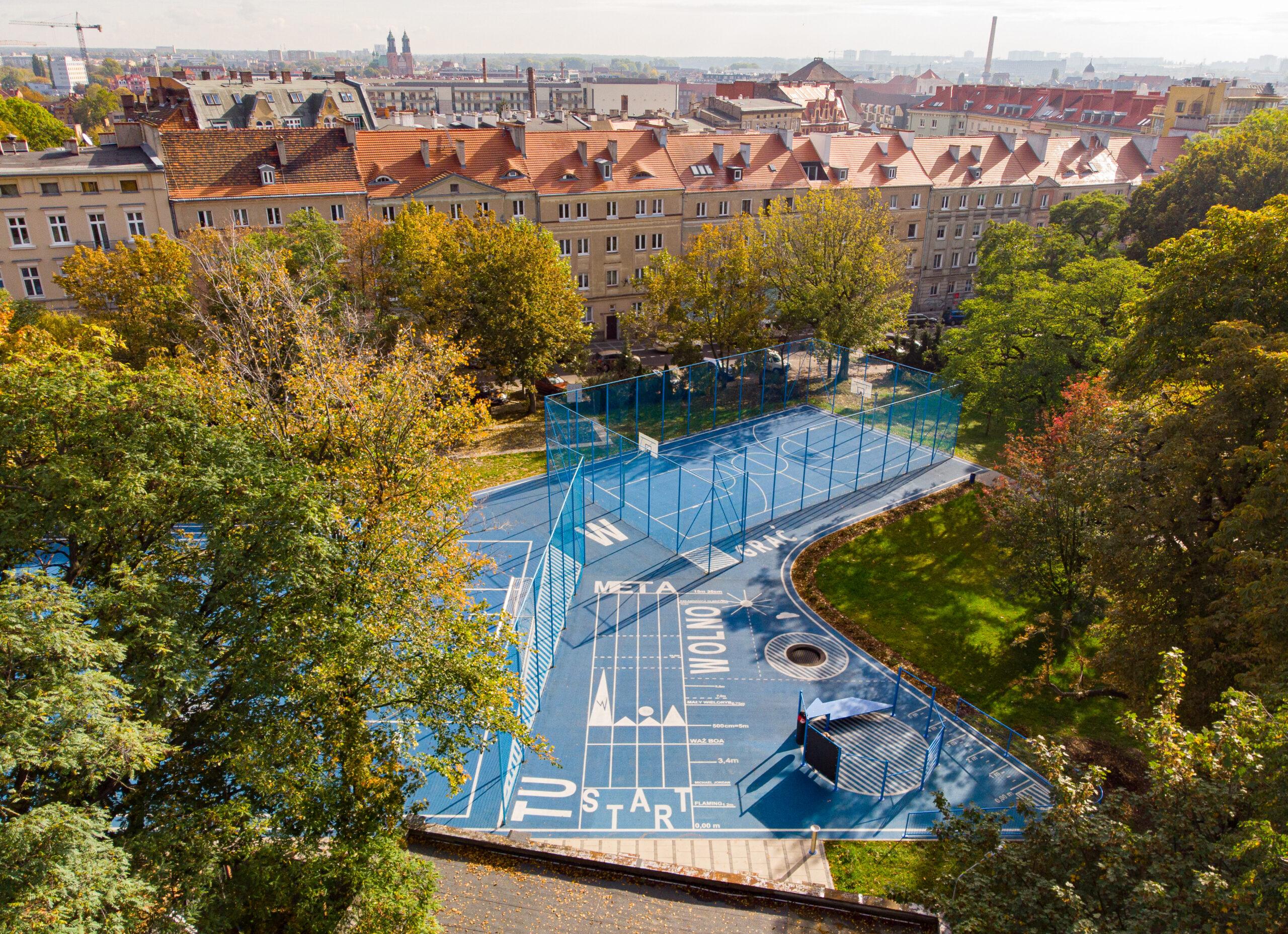 Przebudowa Ogrodu Jordanowskiego w Poznaniu