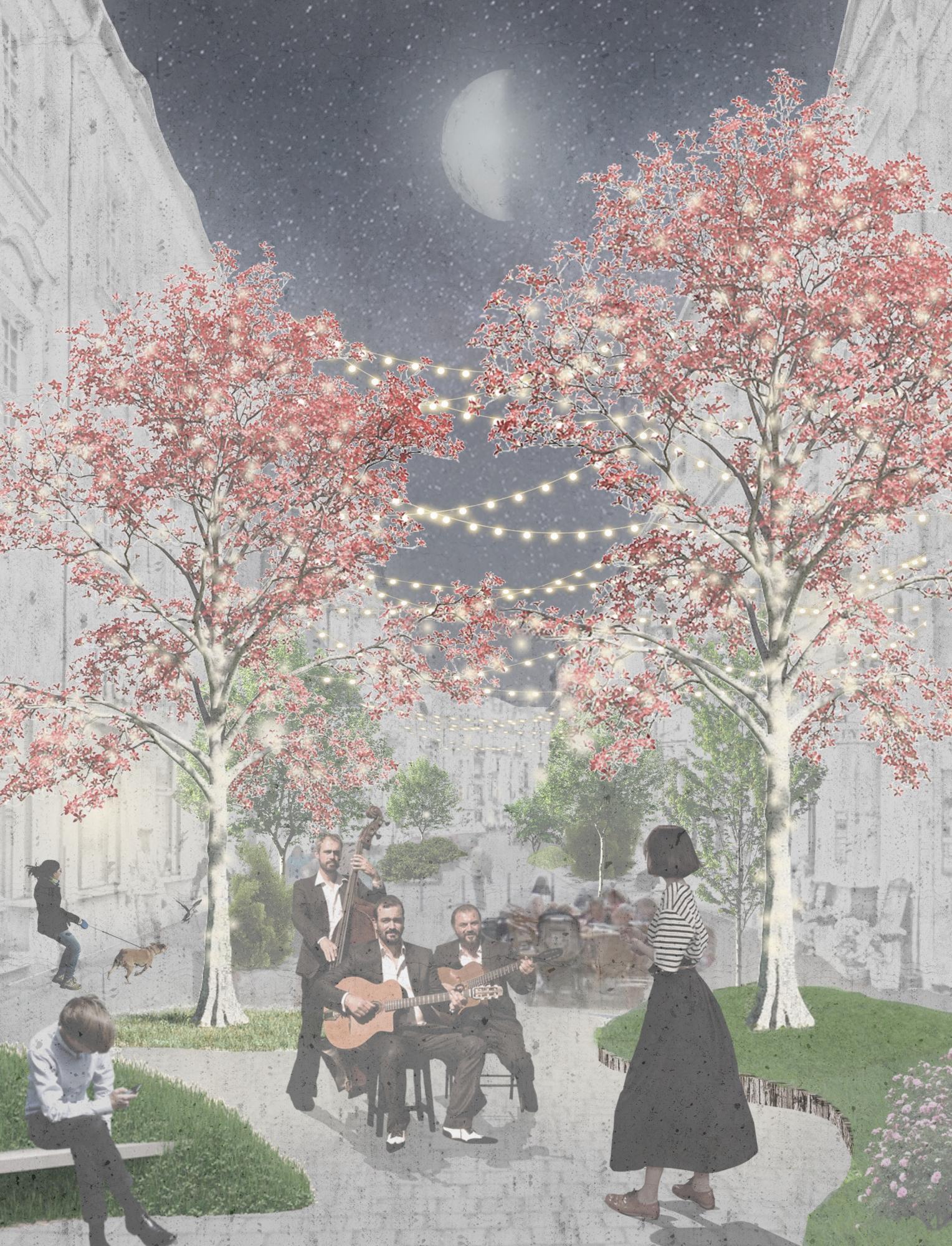 Plac Wiosny Ludów projekt