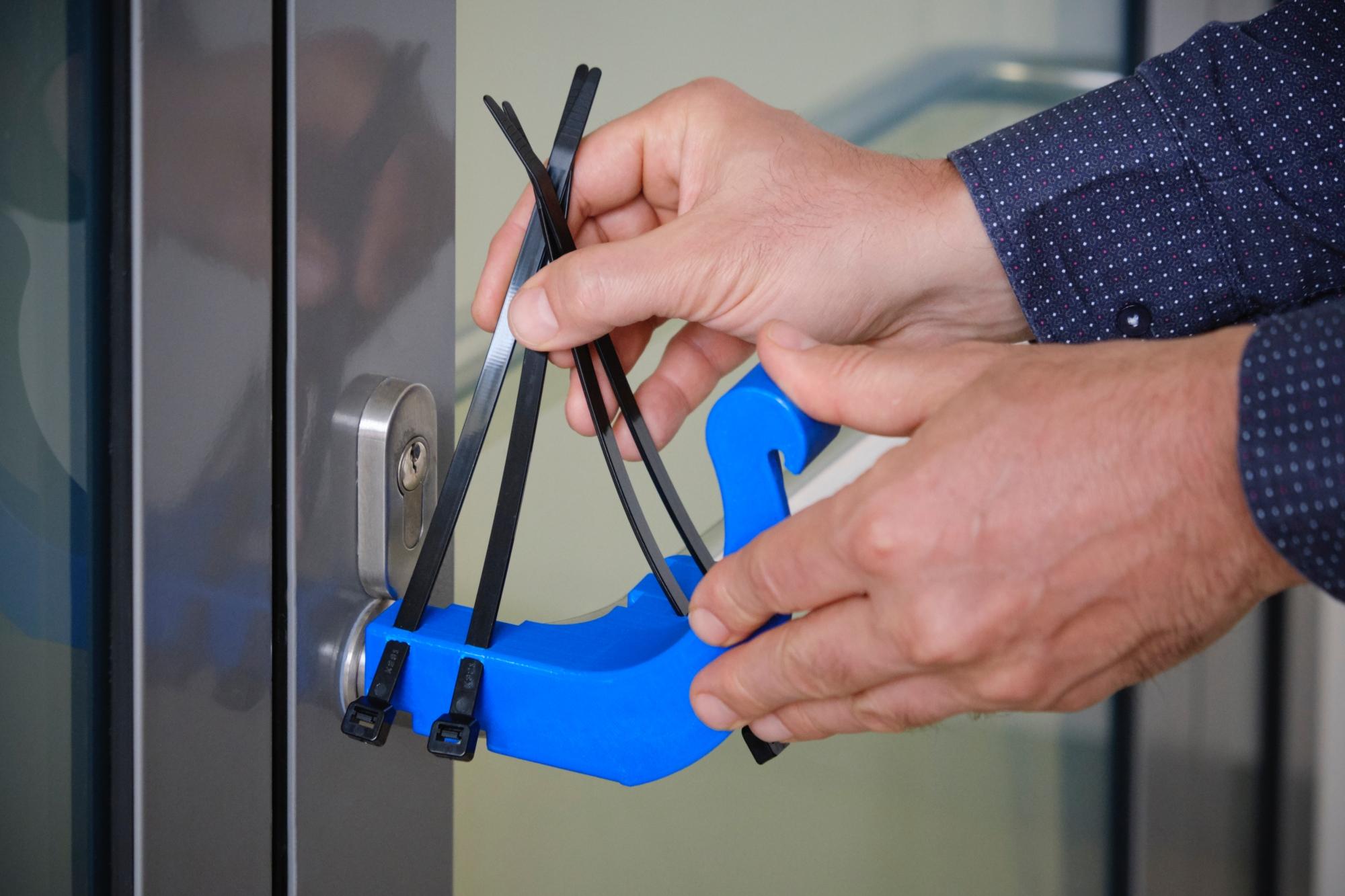 klamka z drukarki 3D