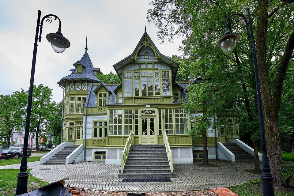 Skansenu Łódzkiej Architektury Drewniane