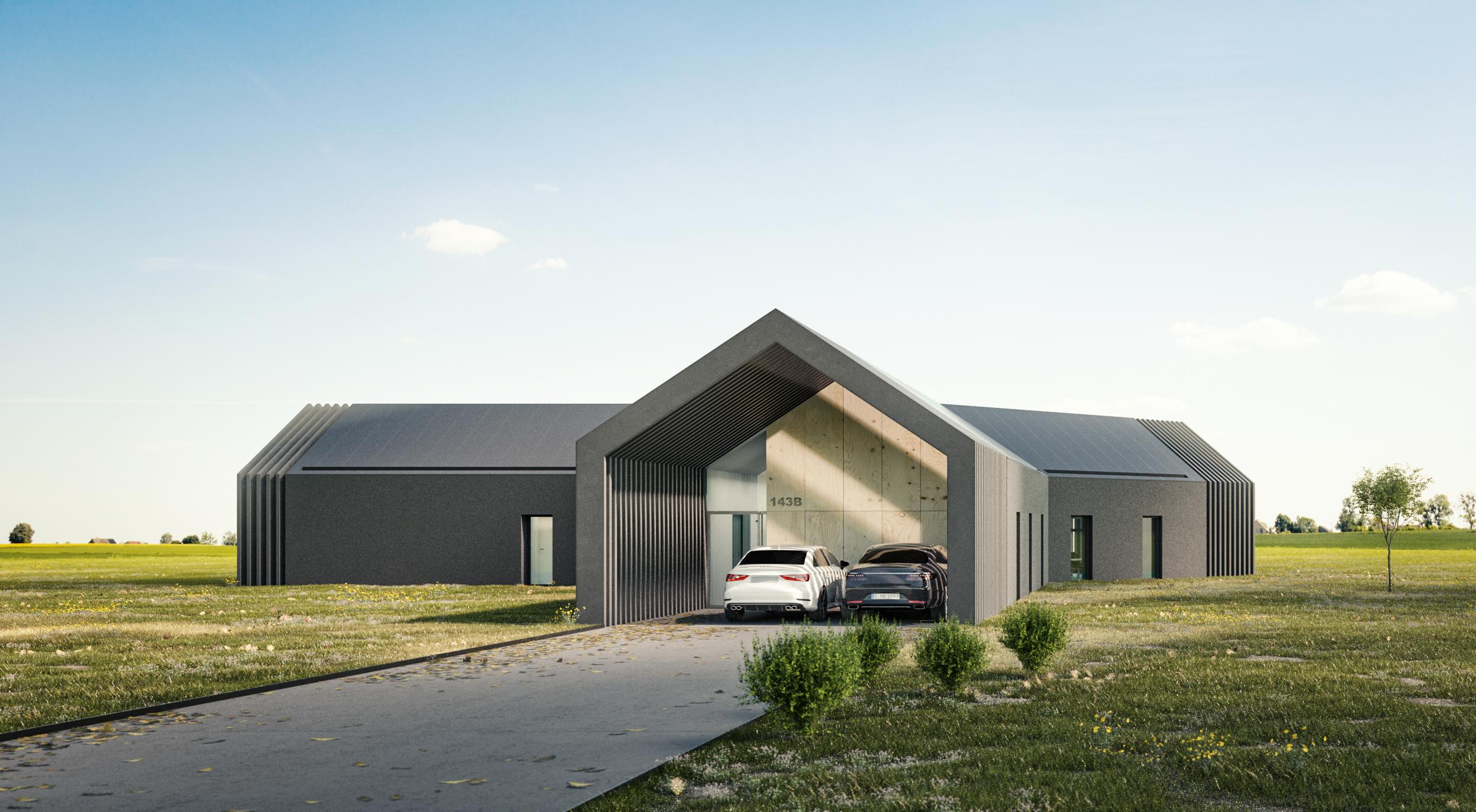 parterowy dom
