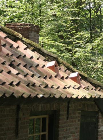 Budki dla ptaków w dachówkach