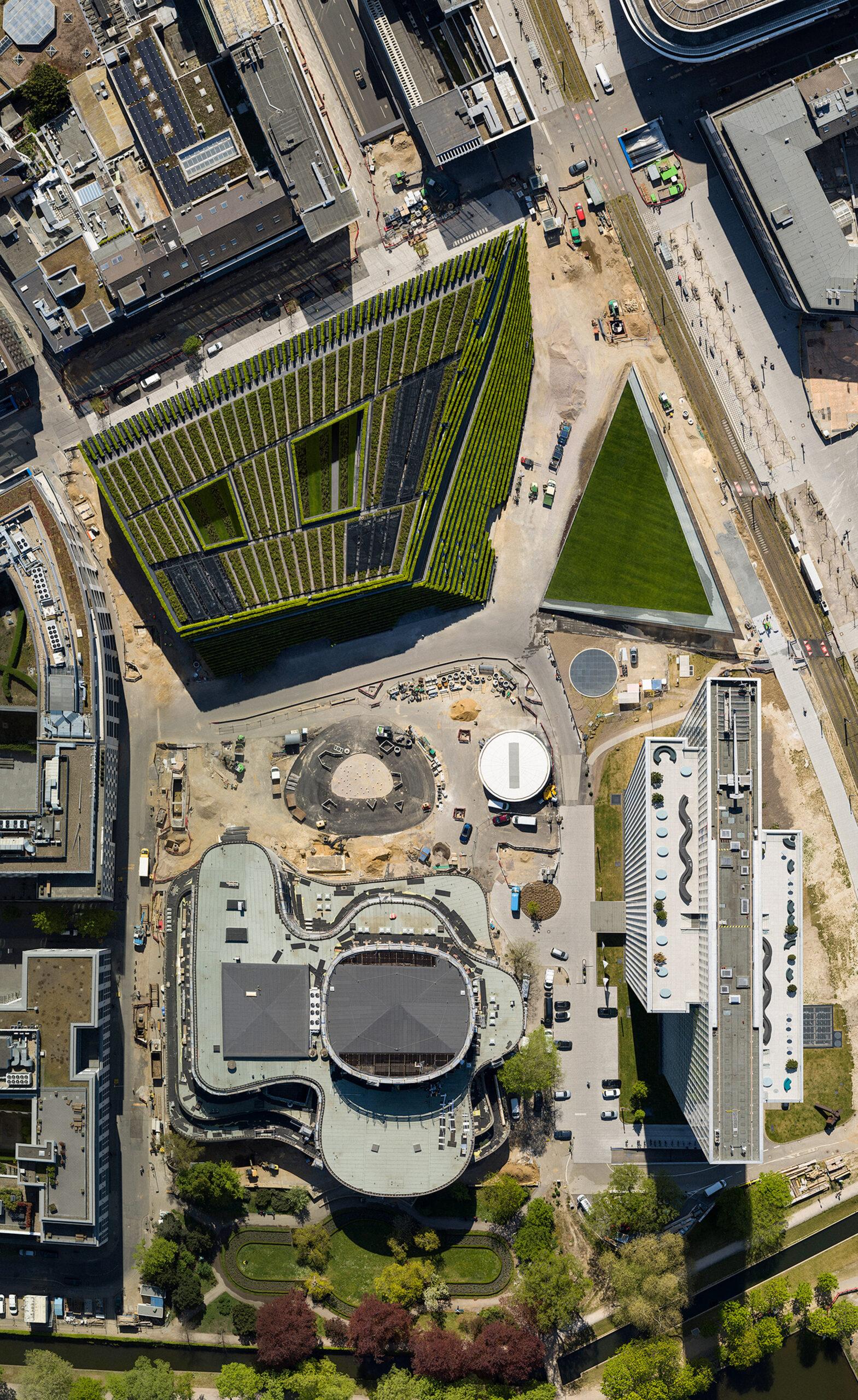 Największa zielona fasada w Europie