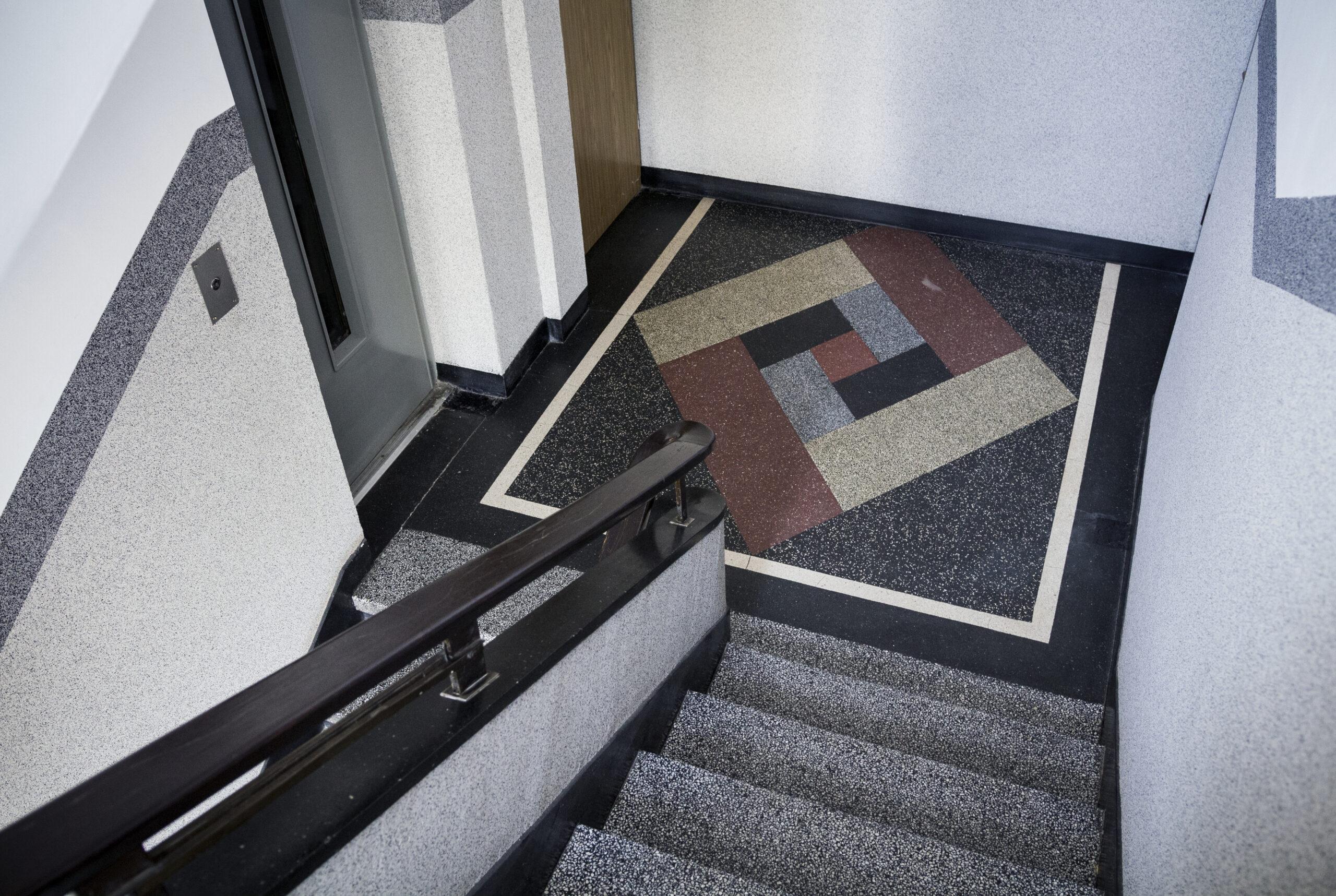 modernistyczne klatki schodowe