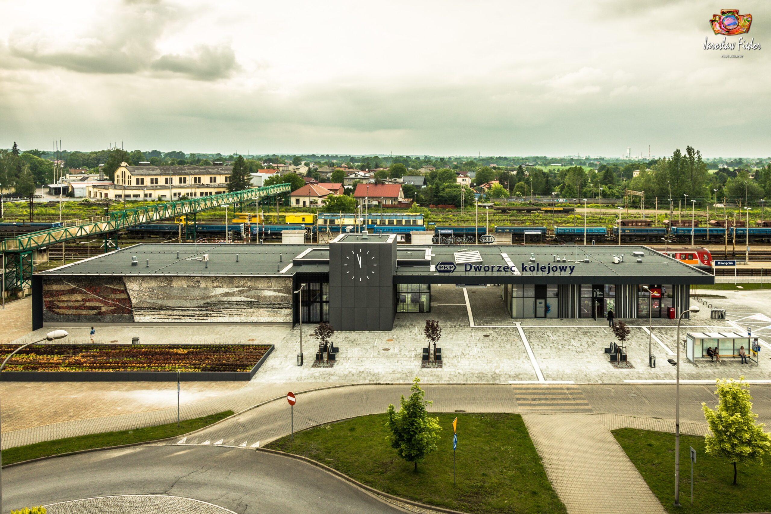 dworzec oświęcimiu