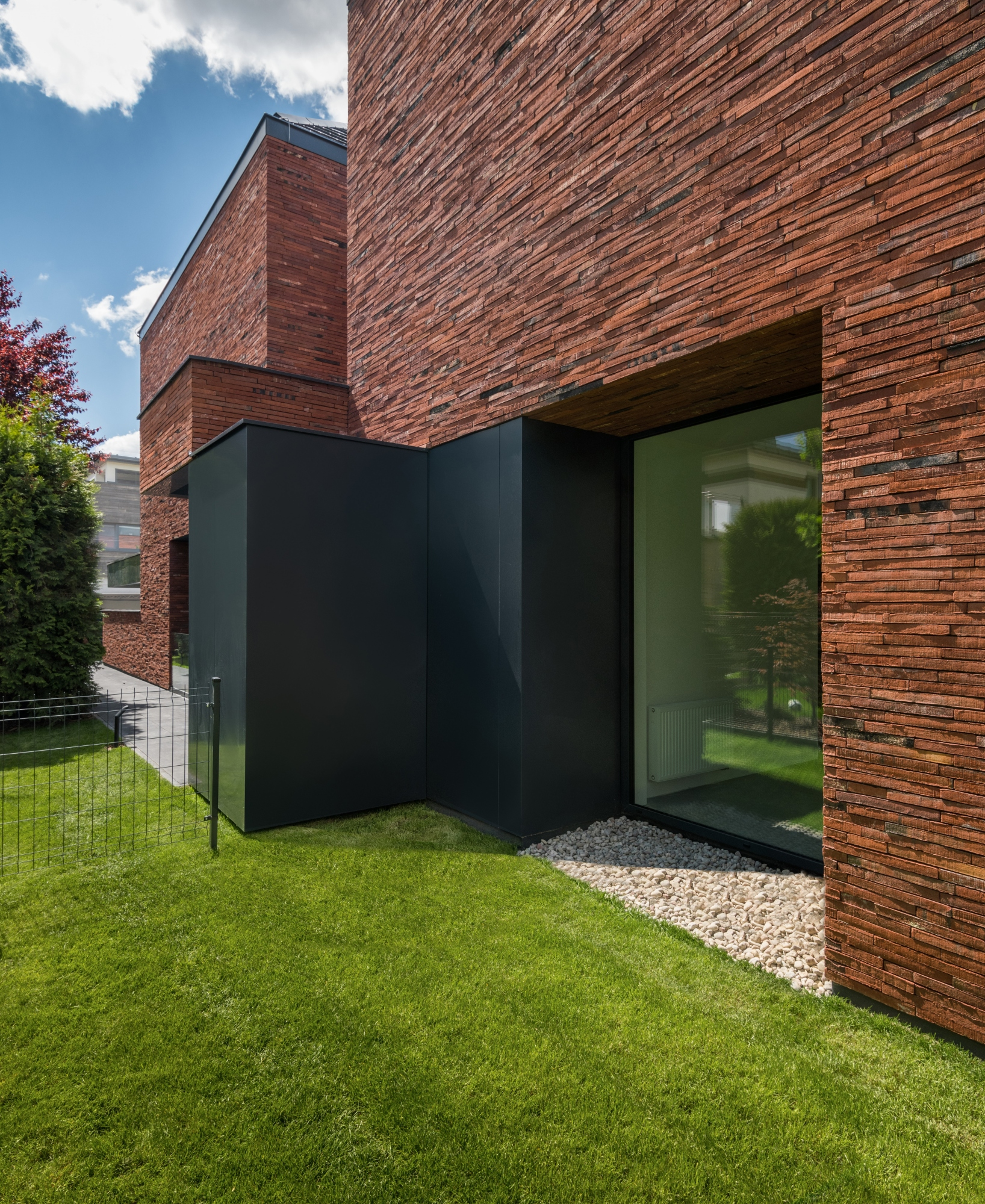 Ceglany dom