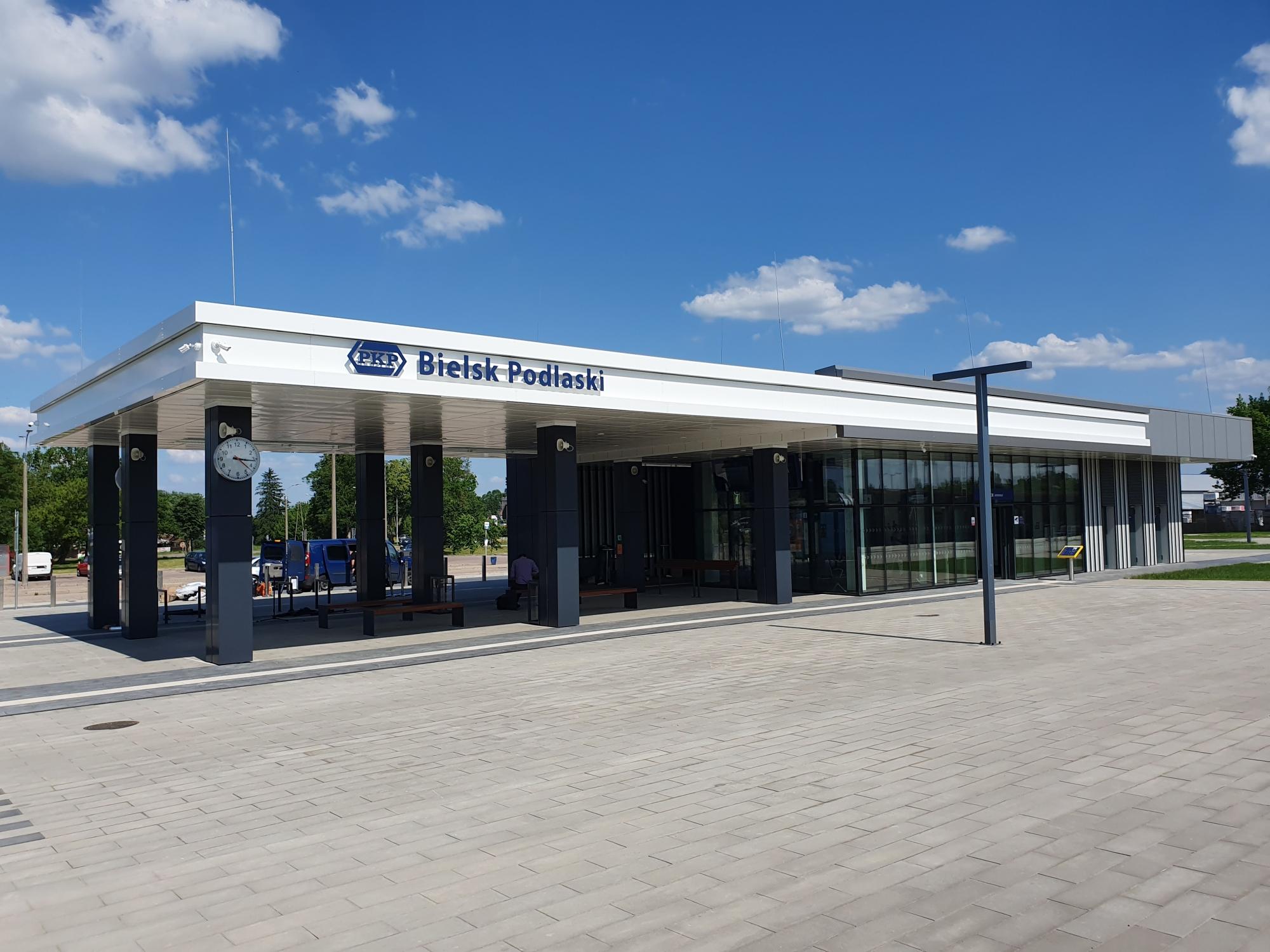 Dworzec w Bielsku Podlaskim
