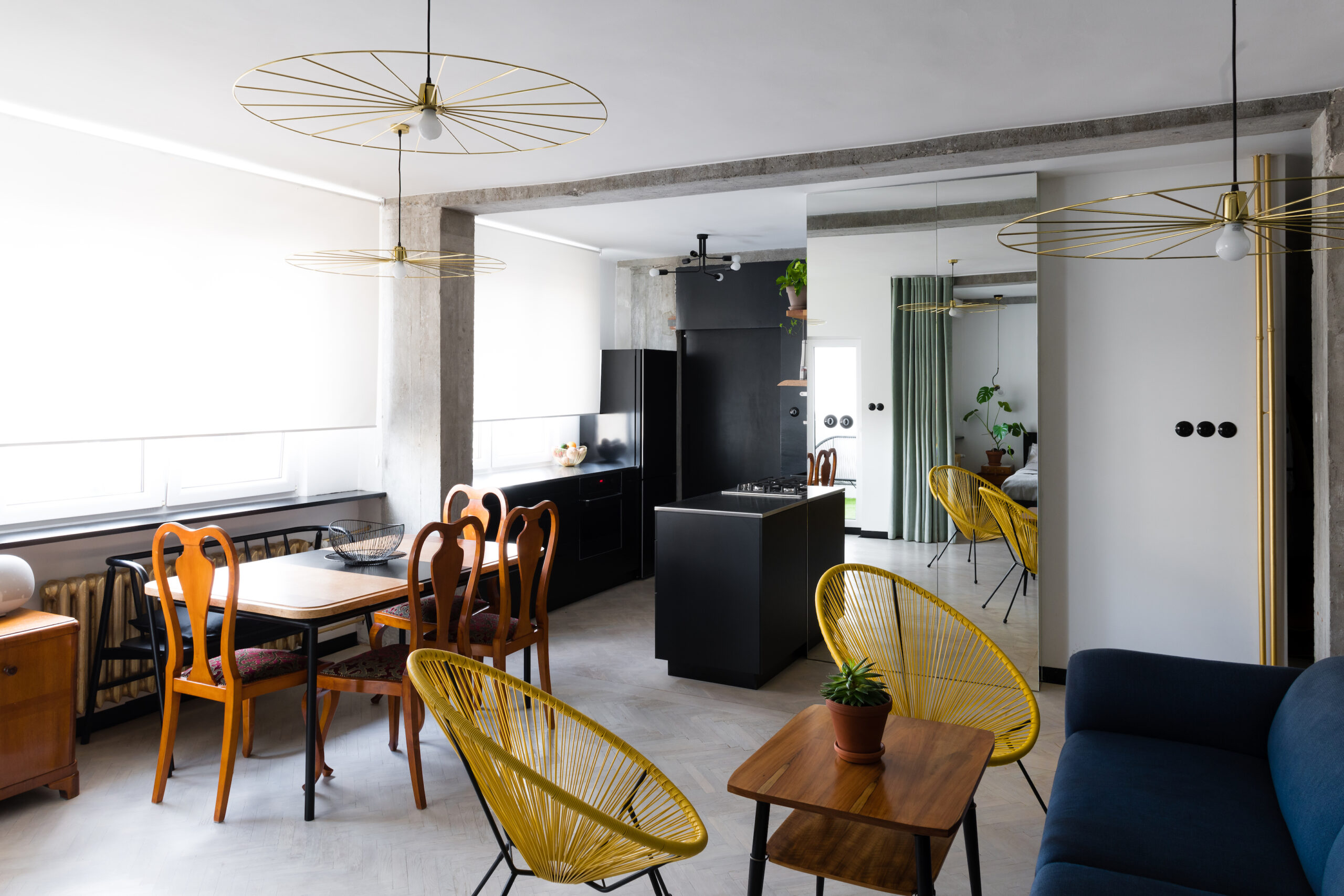 Mieszkanie w stylu lat 60-tych