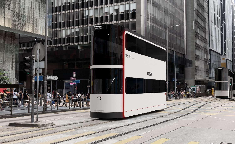 nowoczesny tramwaj