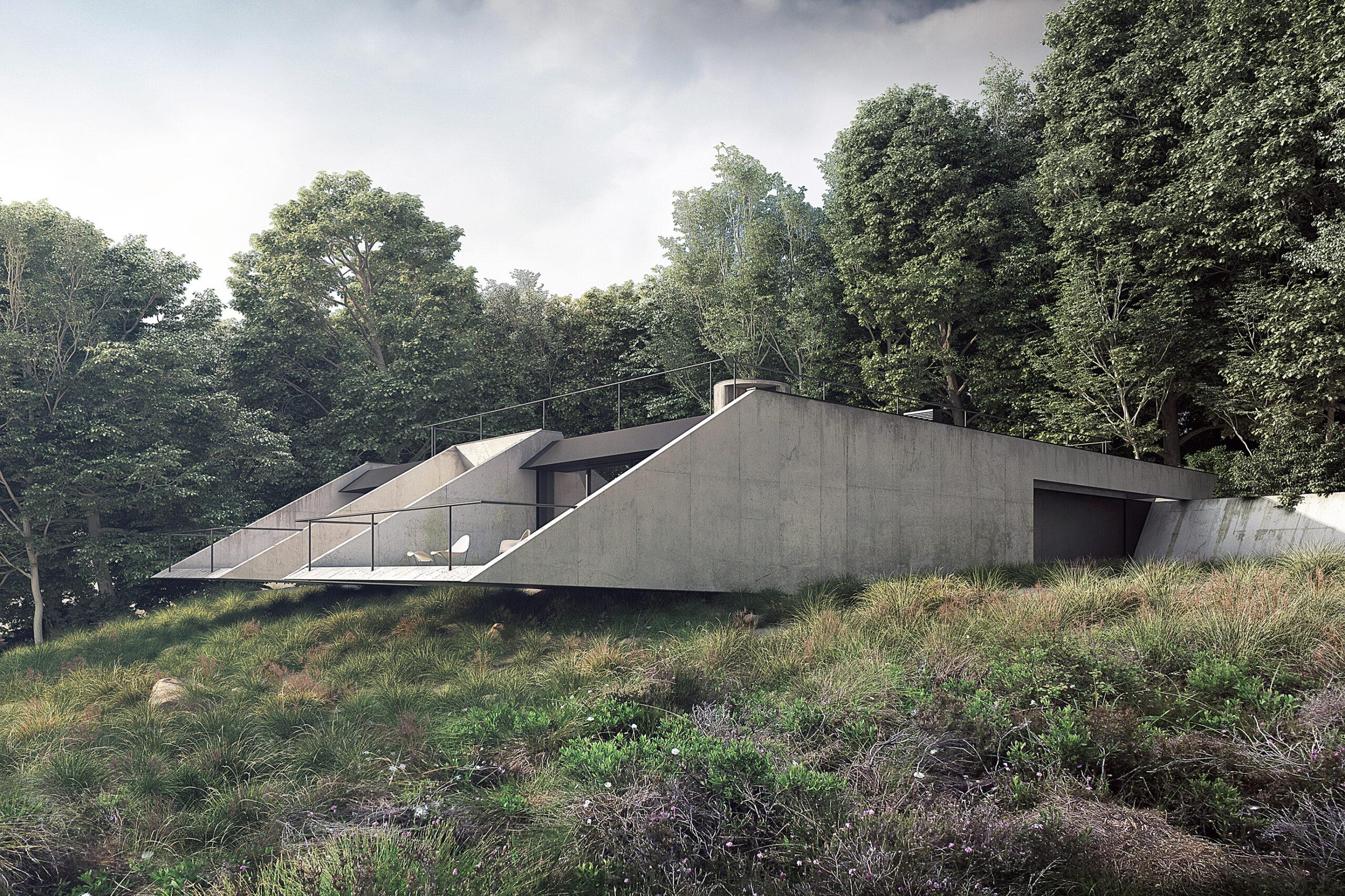 dom w Bieszczadach