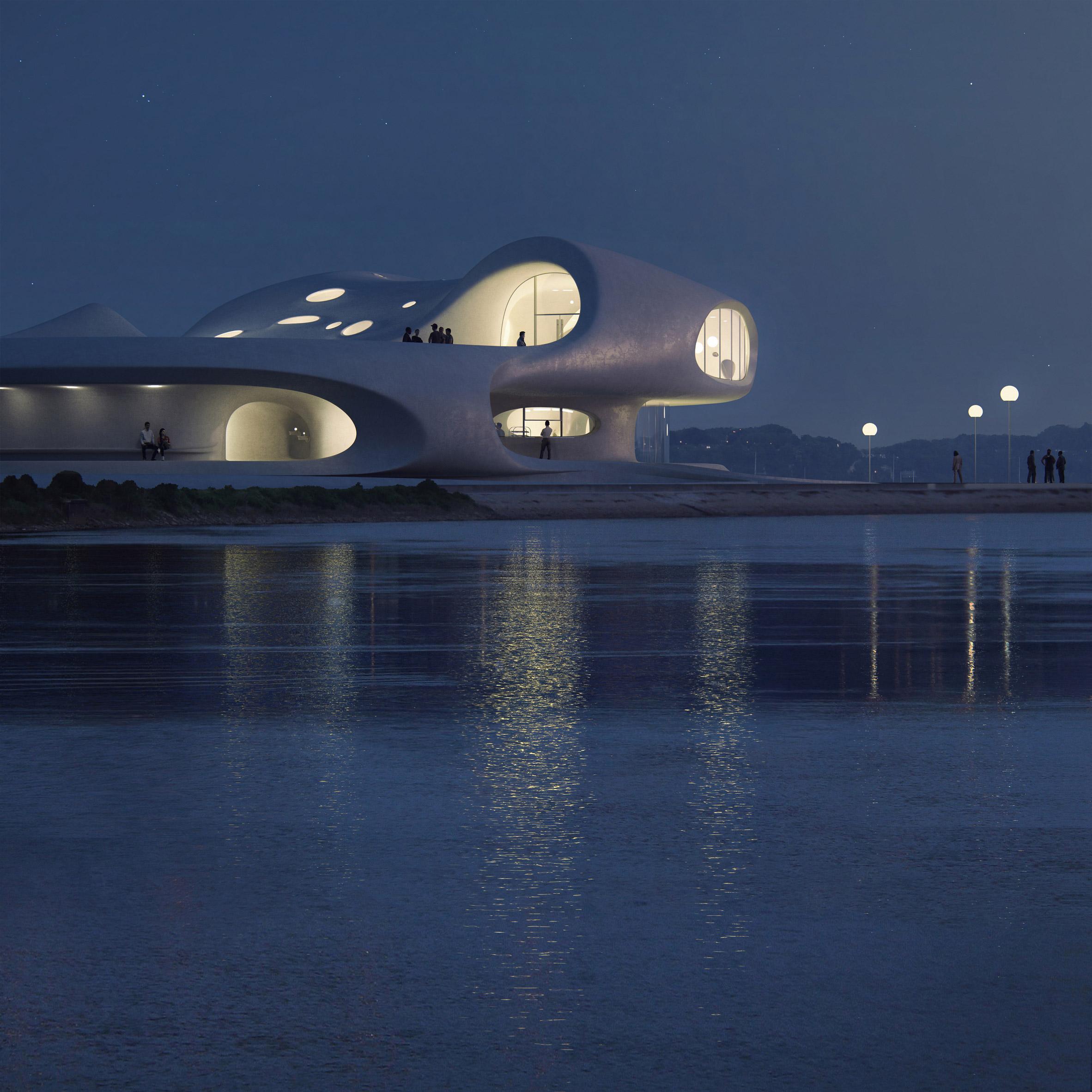 Nowoczesna biblioteka w Chinach