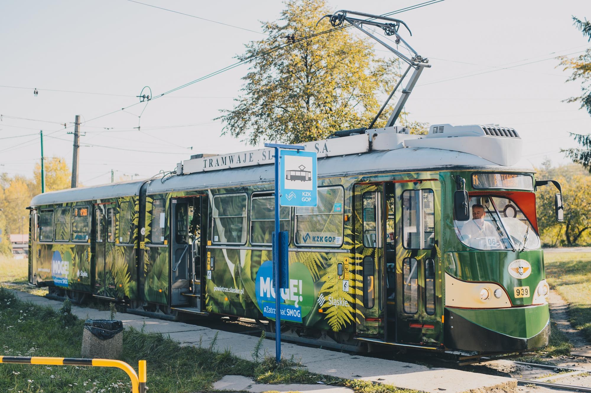Antysmogowy tramwaj