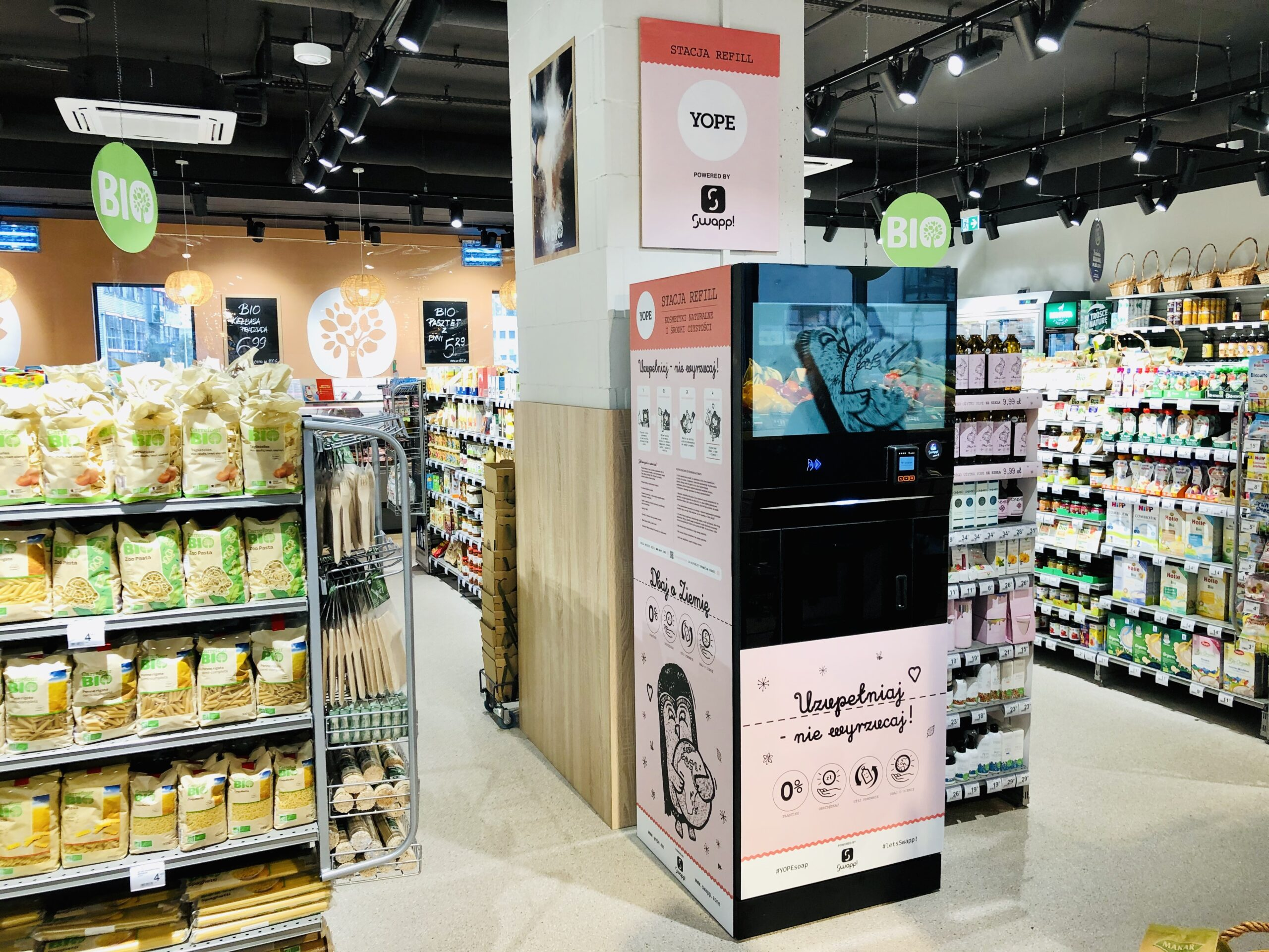 automat do napełniania butelek