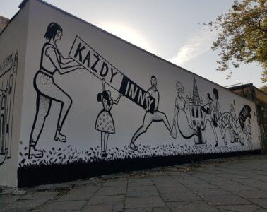 mural mowie nienawiści