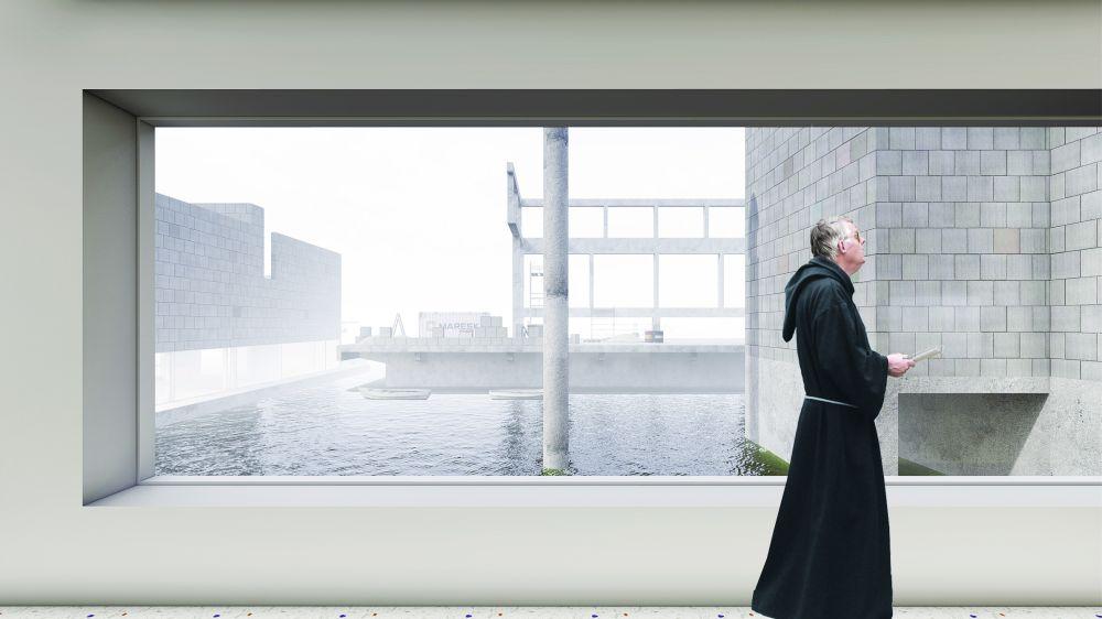 projekt klasztoru