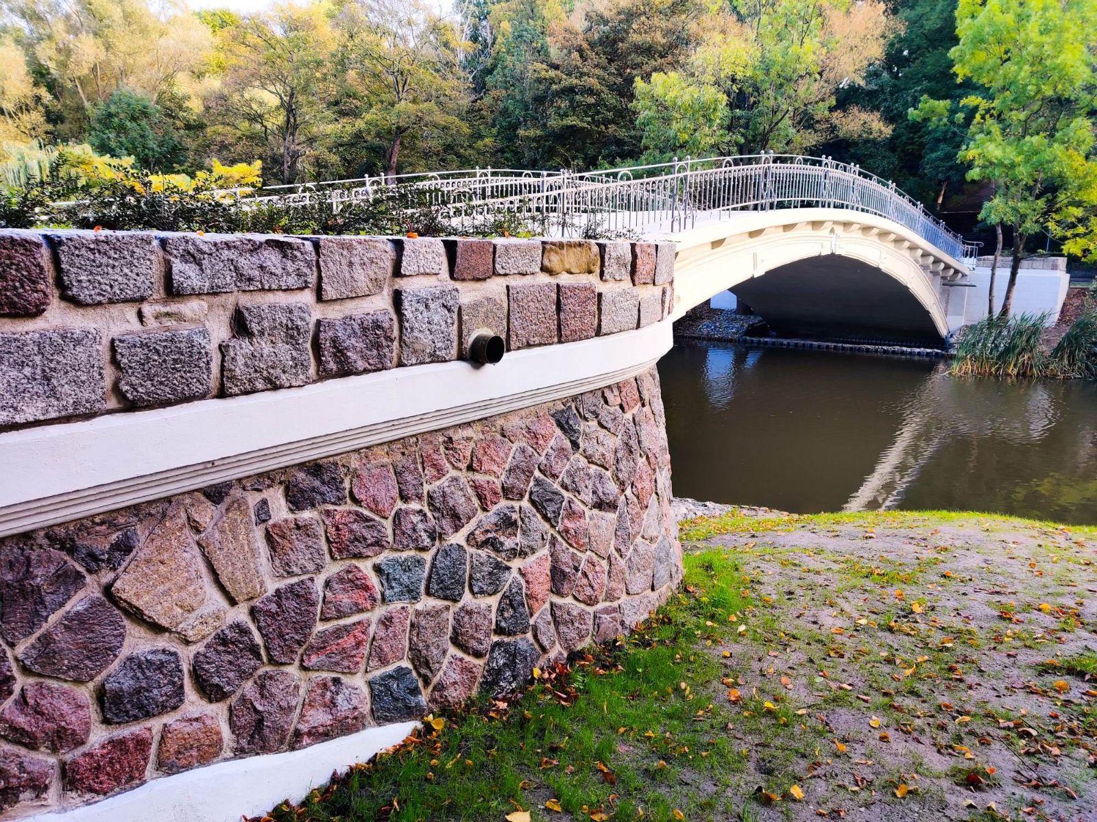 mostek japoński w Szczecinie