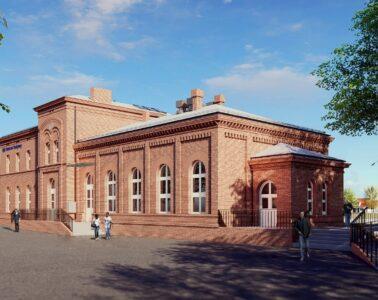 dworzec w Trzemesznie