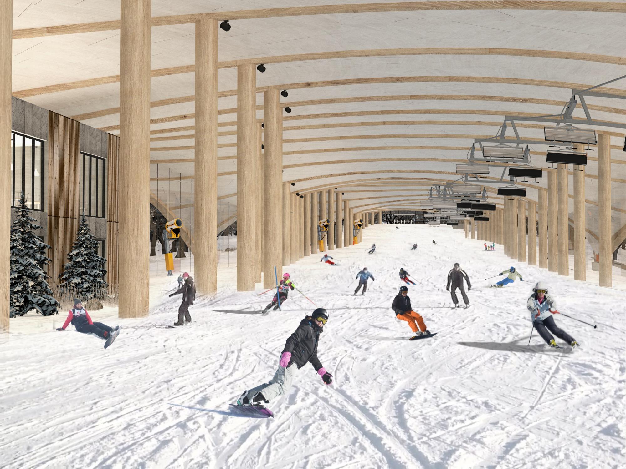 stok narciarski w gdyni
