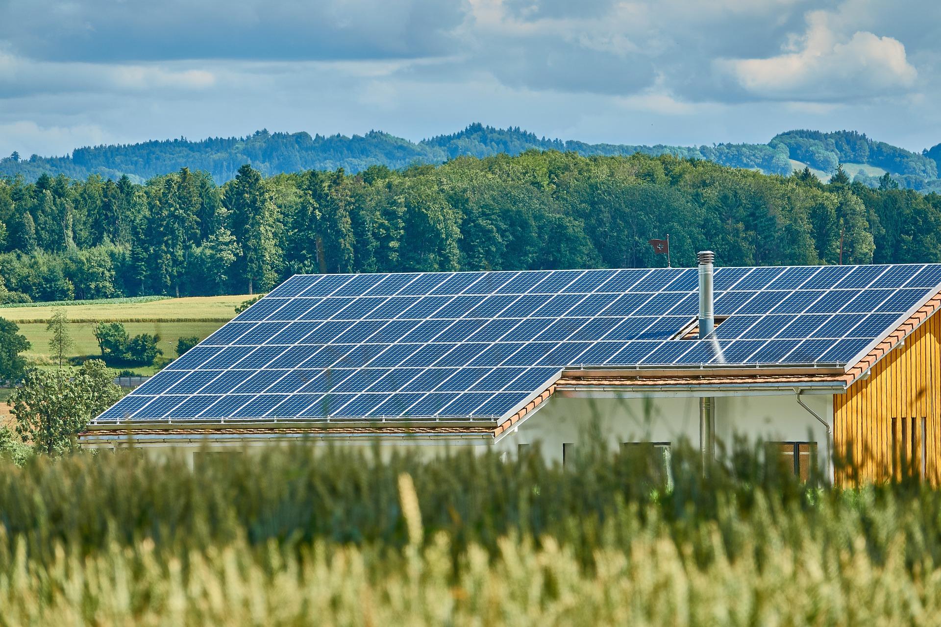elektrownię słoneczną